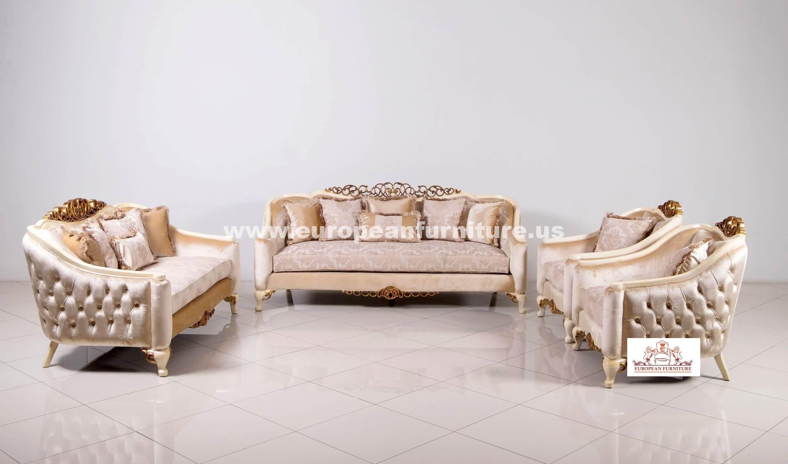 Angelica Luxury Sofa Set