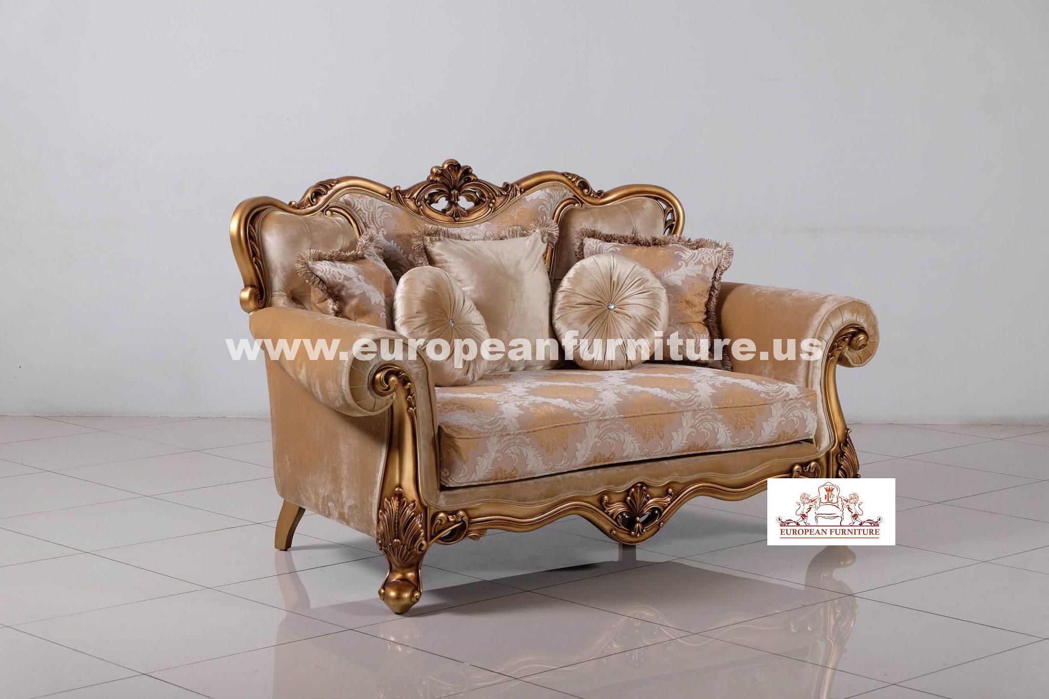Cleopatra Luxury Sofa Set European Furniture