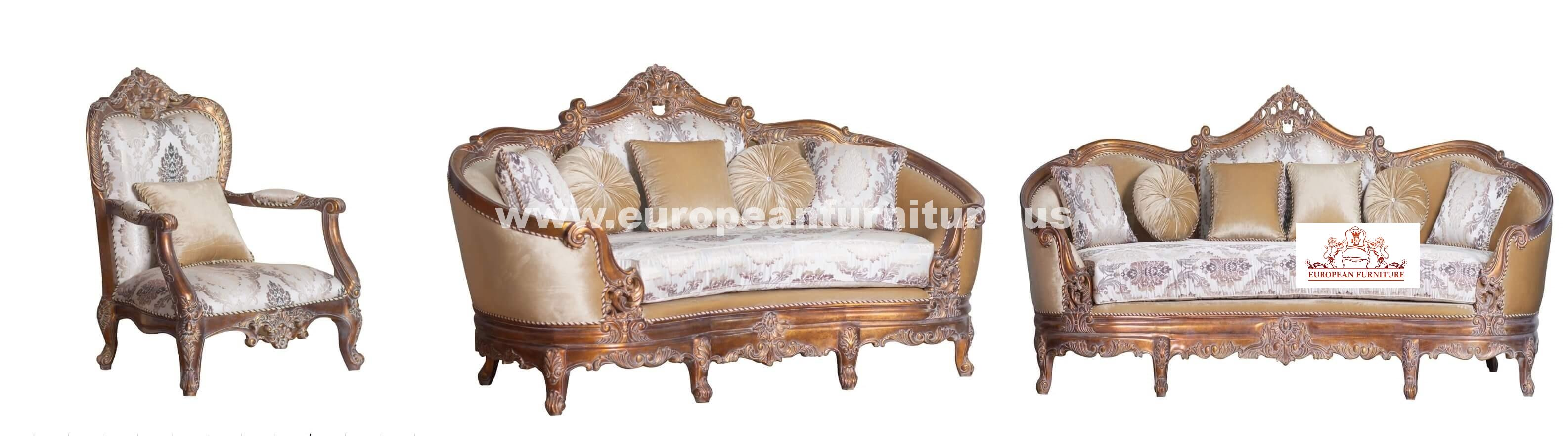 Victorian Luxury Sofa Set