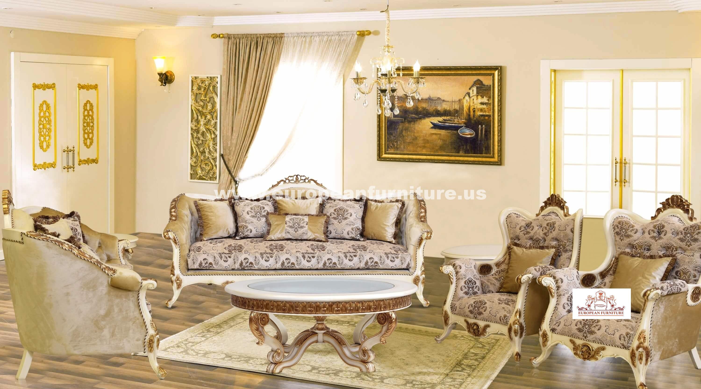 Charmant Paris Luxury Sofa Set