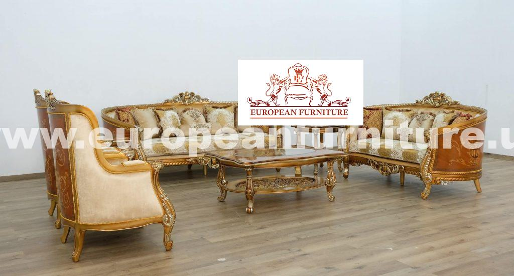 Luxor Ii Luxury Sofa Set European Furniture